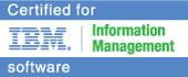 Certified for IBM Information Management Software